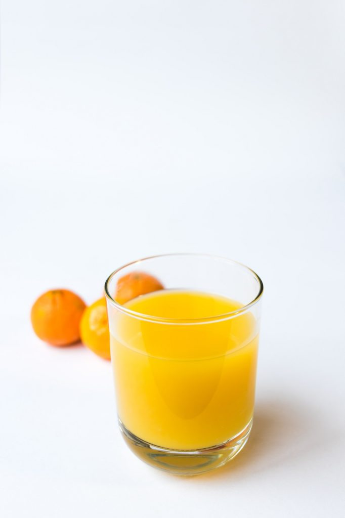 A simple glass of OJ